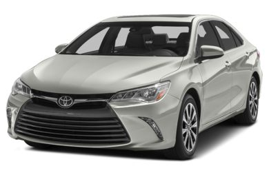 3/4 Front Glamour 2015 Toyota Camry