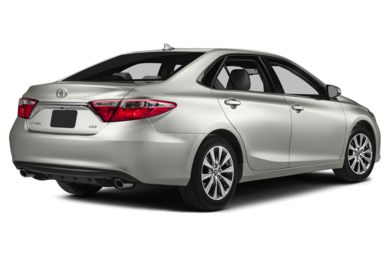 3/4 Rear Glamour  2015 Toyota Camry