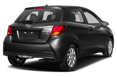 3/4 Rear Glamour  2017 Toyota Yaris