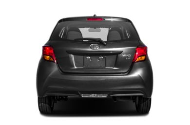 Rear Profile  2017 Toyota Yaris