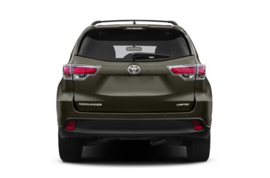 Rear Profile  2014 Toyota Highlander