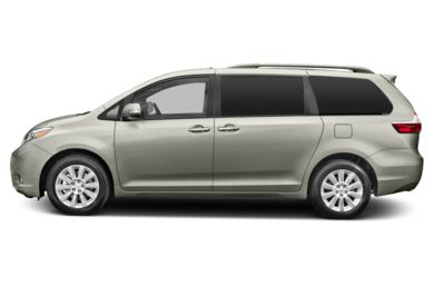 90 Degree Profile 2015 Toyota Sienna