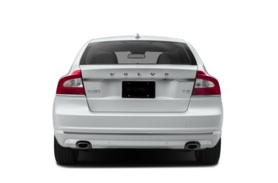 Rear Profile  2015 Volvo S80