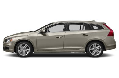90 Degree Profile 2015 Volvo V60