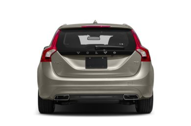 Rear Profile  2015 Volvo V60