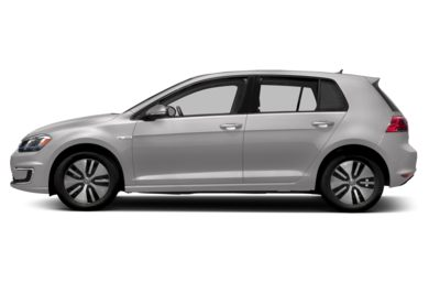 90 Degree Profile 2016 Volkswagen e-Golf