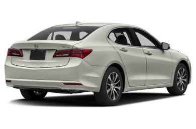 3/4 Rear Glamour  2016 Acura TLX