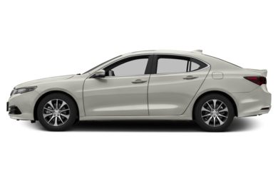 90 Degree Profile 2016 Acura TLX