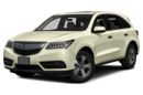 3/4 Front Glamour 2016 Acura MDX