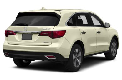 3/4 Rear Glamour  2016 Acura MDX