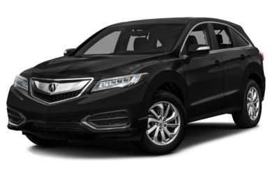 3/4 Front Glamour 2016 Acura RDX