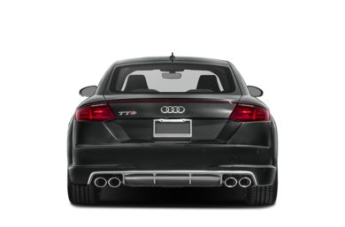 Rear Profile  2018 Audi TTS