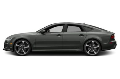 90 Degree Profile 2017 Audi RS 7
