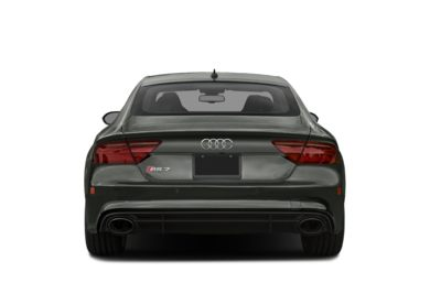 Rear Profile  2017 Audi RS 7