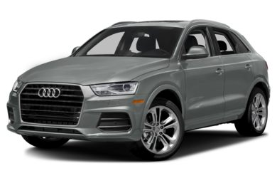 3/4 Front Glamour 2017 Audi Q3