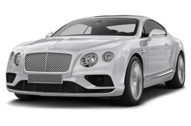 3/4 Front Glamour 2016 Bentley Continental GT