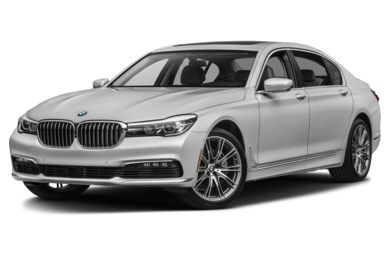 3/4 Front Glamour 2016 BMW 740