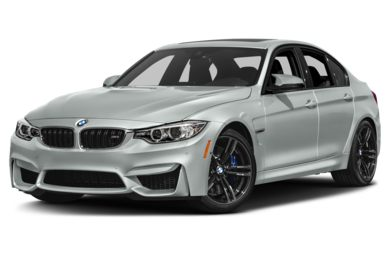 3/4 Front Glamour 2017 BMW M3
