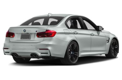 3/4 Rear Glamour  2017 BMW M3