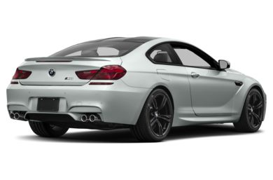3/4 Rear Glamour  2017 BMW M6