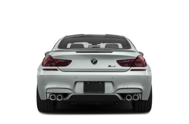 Rear Profile  2017 BMW M6