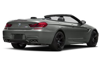 3/4 Rear Glamour  2018 BMW M6