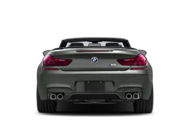 Rear Profile  2018 BMW M6