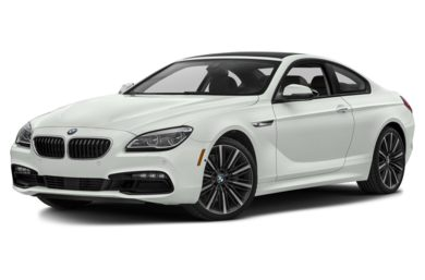 3/4 Front Glamour 2017 BMW 640
