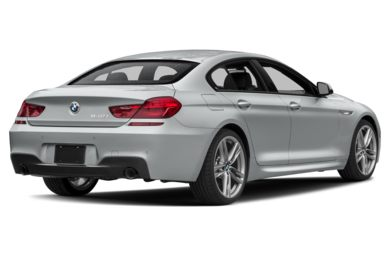 3/4 Rear Glamour  2018 BMW 640 Gran Coupe