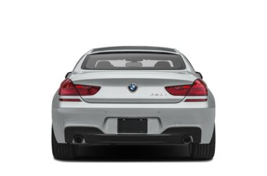 Rear Profile  2018 BMW 640 Gran Coupe