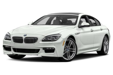 3/4 Front Glamour 2018 BMW 650 Gran Coupe