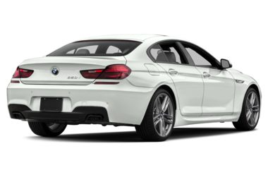 3/4 Rear Glamour  2018 BMW 650 Gran Coupe