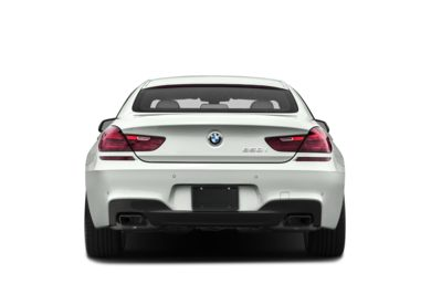 Rear Profile  2017 BMW 650 Gran Coupe