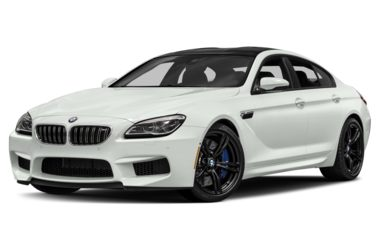 3/4 Front Glamour 2018 BMW M6 Gran Coupe