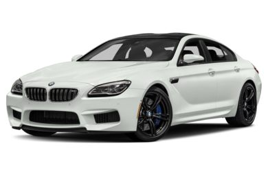 3/4 Front Glamour 2017 BMW M6 Gran Coupe