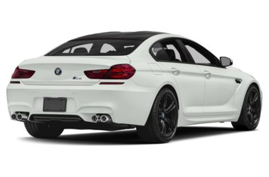 3/4 Rear Glamour  2017 BMW M6 Gran Coupe