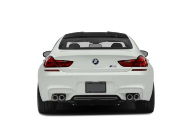 Rear Profile  2017 BMW M6 Gran Coupe