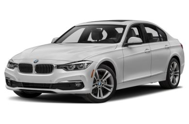 3/4 Front Glamour 2018 BMW 328d