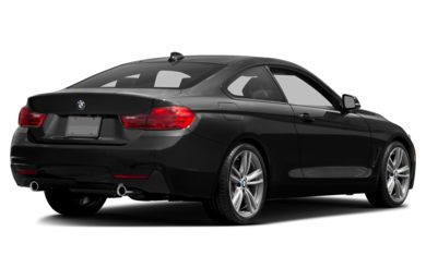 3/4 Rear Glamour  2014 BMW 435