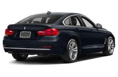 3/4 Rear Glamour  2016 BMW 428 Gran Coupe