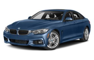 3/4 Front Glamour 2015 BMW 435 Gran Coupe