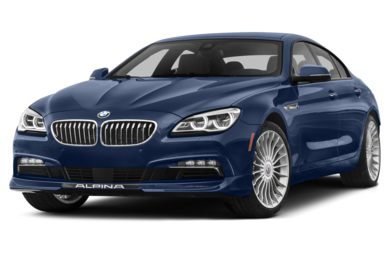 3/4 Front Glamour 2017 BMW ALPINA B6 Gran Coupe