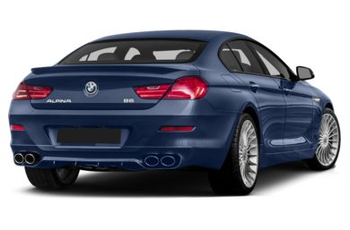 3/4 Rear Glamour  2017 BMW ALPINA B6 Gran Coupe