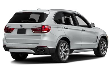 3/4 Rear Glamour  2018 BMW X5 eDrive
