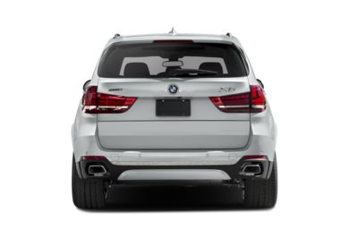 Rear Profile  2018 BMW X5 eDrive