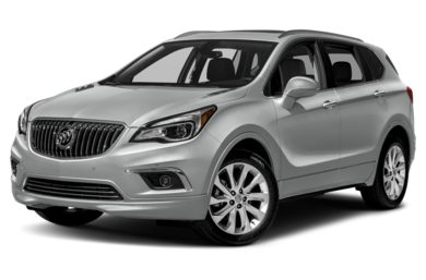 3/4 Front Glamour 2017 Buick Envision