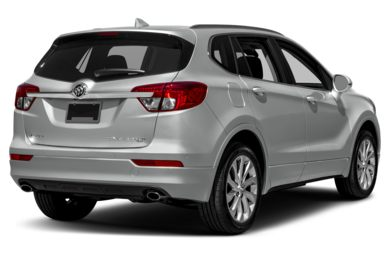 3/4 Rear Glamour  2017 Buick Envision