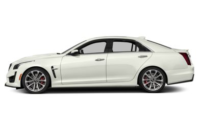 90 Degree Profile 2017 Cadillac CTS-V