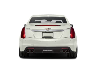 Rear Profile  2018 Cadillac CTS-V