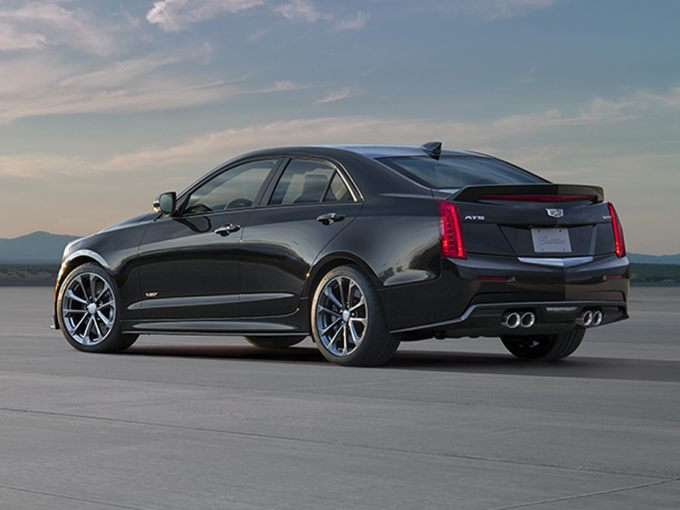 2017 cadillac ats v styles features highlights. Black Bedroom Furniture Sets. Home Design Ideas